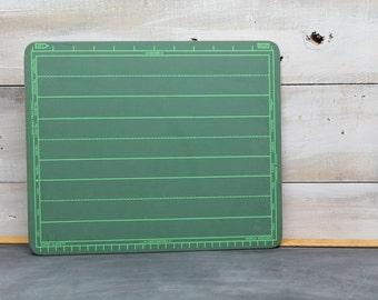 Vintage Green Super Slate Chalkboard