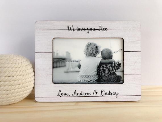 I Love You Nana Pesonalized Frame Gift for Grandma Christmas