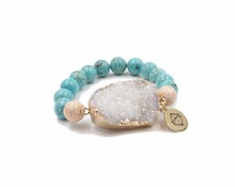 Aquamarine Dreamscape Bracelet