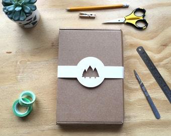 DIY kit, Papercut, Best Friend Gift, Adult Craft kit, 3D Papercraft, Craft kit, Papercut Template, Birthday gift, Papercraft 3D