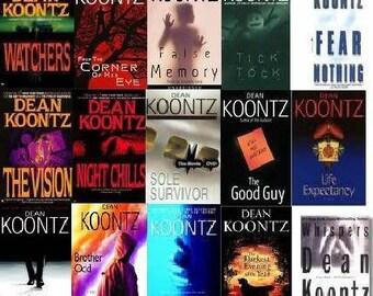 Dean Koontz mystery book box, horror mystery book box