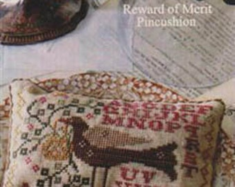 BLACKBIRD DESIGNS Gathering Basket counted cross stitch patterns at thecottageneedle.com sampler