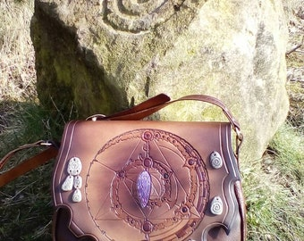 The Prophecy, leather bag by Ancestor Leathercrafts