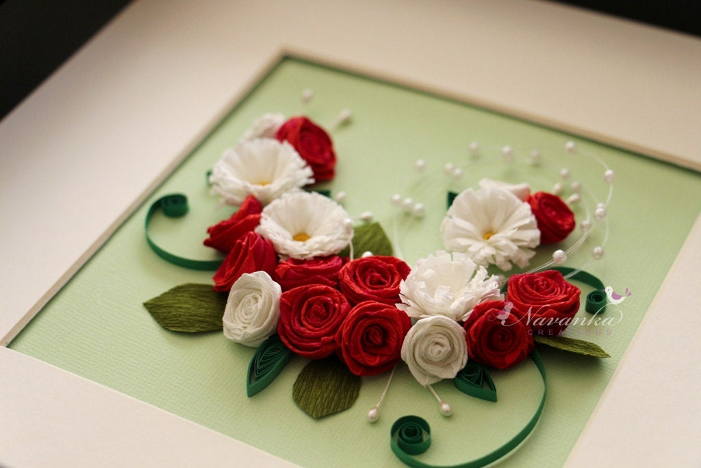 paper quilling flower frames - Acur.lunamedia.co