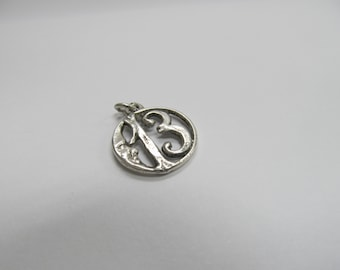 Sterling Silver 13 Moon Charm W #812