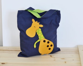 Tote Bag, Library, Grocery, Music, Market Bag PDF sewing pattern+Applique