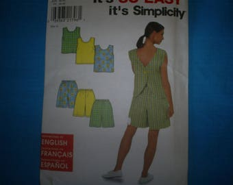 Simplicity 8203   Summer outfits Size 10-20.