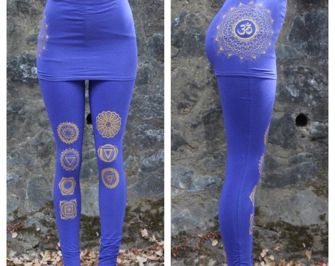 OM Chakra ORGANIC SKIRTED Legging