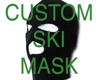CUSTOM SKI MASK  Design Your Own Ski Mask