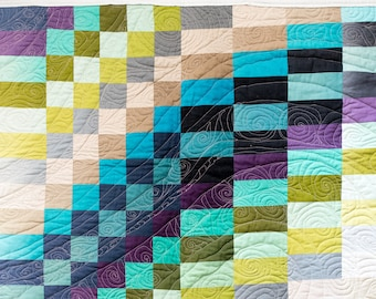 Bargello Waterfall Quilt Wall Hanging