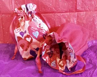 Lovey Dovey Drawstring Bag (Mini)