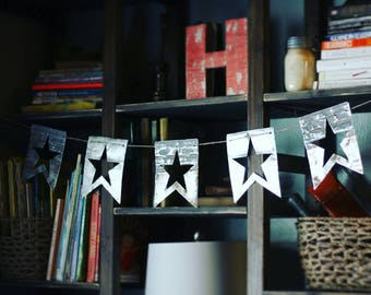 Reclaimed Metal Bunting