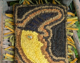 Witch in the Moon rug hooking pattern - PDF - from Notforgotten Farm™
