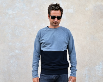 Sweatshirt,organic sweatshirt,organic sweater men,sweatshirt organic,pullover,organic clothing,organic cotton,gift for him,sweaters