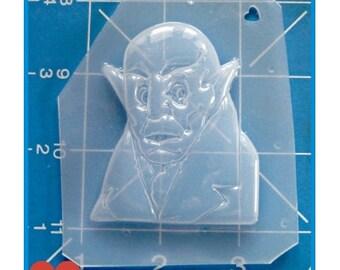 Horror Nosferatu character Handmade Flexible Plastic Resin Mold