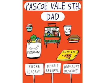 Father's Day Card - Pascoe Vale South Dad