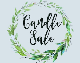 Candle Sale - Over 20 Different Candles 40% Off
