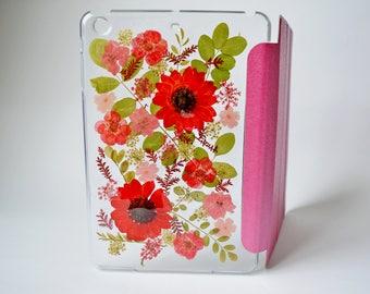 pressed flower ipad mini case ipad mini 2 smart cover ipad mini 3 hard case ipad mini case leather ipad mini 2 case kawaii real flowers case