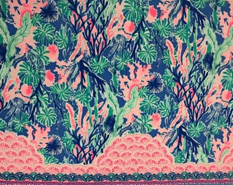 MULTI JET STREAM  9 X 18 or 18 X 18 inches ~Lilly Pulitzer~