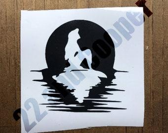 Little Mermaid Ariel Silhouette Vinyl Decal