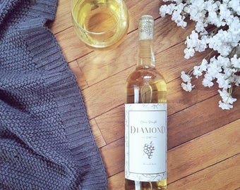 Homemade Wine Label - Printable