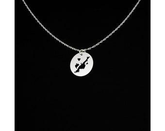 Chincoteague Island Necklace - Chincoteague Island Jewelry - Chincoteague Island Gift