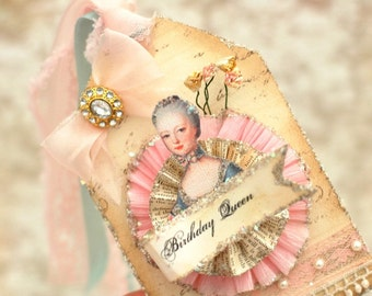 Marie Antoinette Glamorous Over the top Tag
