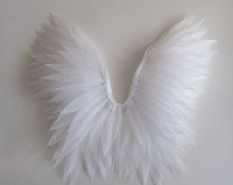Newborn angel wings - Angel Wings - Angel wings props - Wings photo prop - Baby wings - White wings - Newborn Photo Prop - Photography Prop