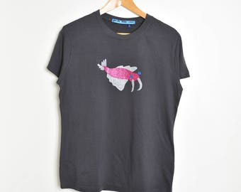 anomalocaris glitter t shirt
