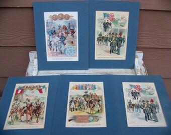 vintage civil war lithographs