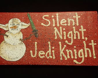 silent night, jedi knight