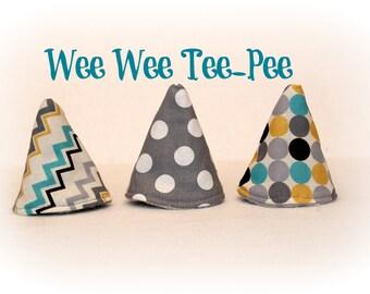 Wee Wee T-Pee - Set of Three - Tinkle Tent