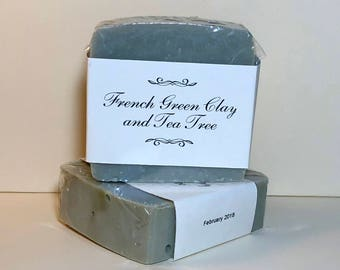 French Green Clay and Tea Tree