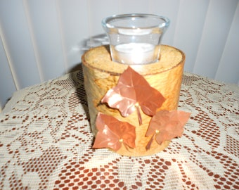River Birch Tea Light Holder