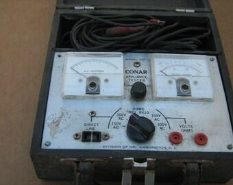 vintage conar model 200 appliance tester
