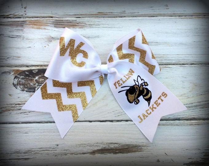 Cheer Bows, Hair Bows, Monogram cheer bows, Custom Cheer Bows, Custom team cheer bow, TEAM DISCOUNTS, Custom Team Bows, Hair Bows