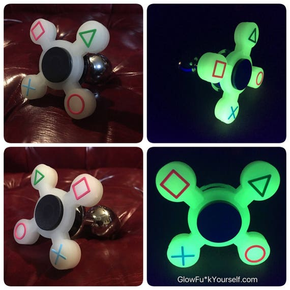 Glow in the dark fidget spinner butt plug get in your game like this item solutioingenieria Gallery