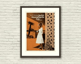 MID CENTURY MODERN Architecture - Jack's Mannequin 18 x 24 Art Print Concert Poster, Lithograph, Nursery, Hipster, Vintage Style
