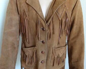 """Vintage 'Pioneer Wear' Vintage Mens Cowboy Jacket - 40"""" Chest 30"""" Length"""