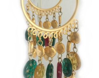 Handmade Chandelier Earrings, Christmas Gift for Her