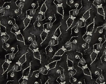 Blank Quilting - All Hallows Eve - Skeletons