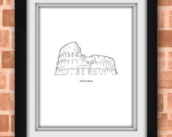 Roman Coliseum Print