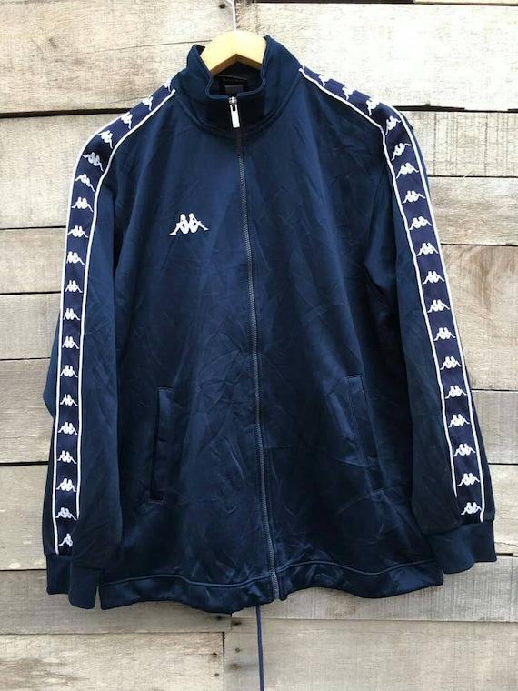 champion kappa Vintage puma jacket stripe navy adidas 90s rare track nike 7SpSqHz