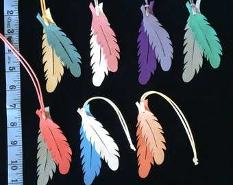 Leather Feather Bagcharms (Series III Summer!)