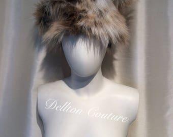 Funky fun fur hat