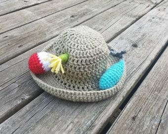 Newborn Fisherman Hat