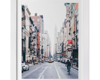 New York City Fine Art Photographic Print, Soho, Manhattan Wall Art, Custom Size Photograph, NYC Architecture Print