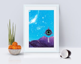 Odyssey Poster Print Wall Art