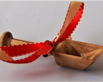 Sea salt shovel from spalted sycamore