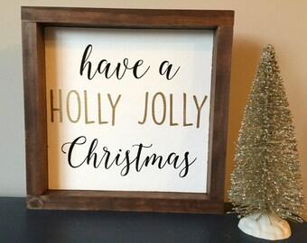 9X9 Holly Jolly